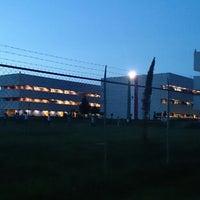 Photo taken at Estacionamiento ESCOM by Alex C. on 10/3/2013