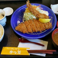 Photo taken at かつ雅 小幡店 by Kouju T. on 12/19/2015