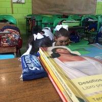 Photo taken at Escuela Primaria Ricardo Flores magón by Paty Mtz S. on 3/17/2017