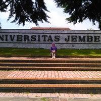Photo taken at Universitas Jember by Lady P. on 5/28/2014