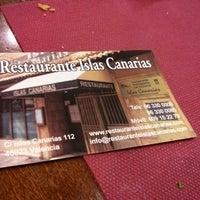 Foto tomada en Restaurante Islas Canarias por Amparo C. el 10/18/2013