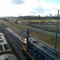 Photo taken at Swanson Train Station by Andrew J. on 12/16/2013