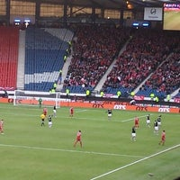 Photo taken at Hampden Park by Peter V. on 2/1/2015
