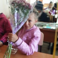 Photo taken at Школа № 504 by Наташа Ч. on 9/1/2014