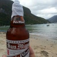 Photo taken at Seaslug's Beach Bar And Resto by Tony on 12/27/2012