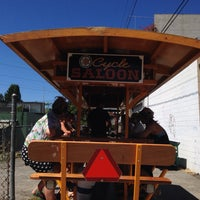 Photo taken at Cycle Saloon by Kate C. on 7/27/2014