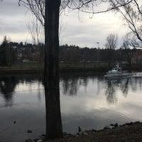 Photo taken at Burke-Gilman Trail (Fremont) by Kate C. on 2/14/2017