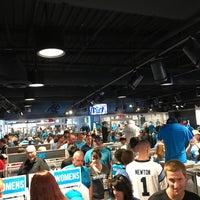 Photo taken at Carolina Panthers Team Store by Matt H. on 9/24/2017