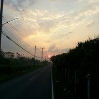 Photo taken at ท่ากว้าง สารภี by Lek p. on 3/8/2013