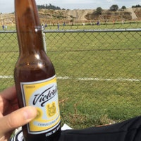 Photo taken at Campos De Futbol Las Minas by Alejandro S. on 3/19/2016