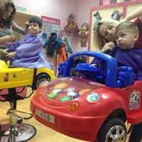 Photo taken at СТРИЖка-МАЛЫШка, парикмахерская для детей by Mihail S. on 1/18/2014