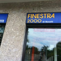 Photo taken at Finestra 2000 by Riccardo R. on 7/3/2013