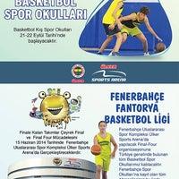 10/19/2013 tarihinde Fenerbahce Spor Okullarıziyaretçi tarafından Fenerbahce Spor Okulları'de çekilen fotoğraf