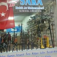 Photo taken at saka balık av malzemeleri by Murat S. on 10/29/2015