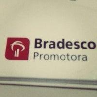 Photo taken at Ponto Amigo Bradesco Promotora by Amanda Silva T. on 2/24/2015