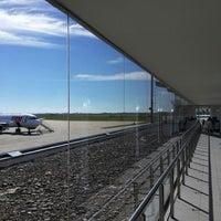 Photo taken at Aeropuerto Internacional de Rosario - Islas Malvinas (ROS) by Maria F. on 5/1/2014