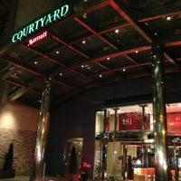 Photo taken at Courtyard by Marriott New York Manhattan/SoHo by Hennie T. on 5/6/2013