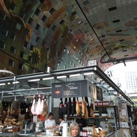 Photo taken at Markthal by Hennie T. on 4/13/2015