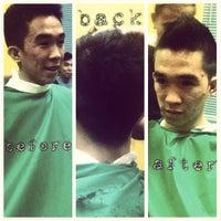 Photo taken at Jacko's Barber Shop by arnel p. on 4/2/2013