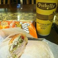Photo taken at Potbelly Sandwich Shop by Ali B. on 4/1/2013