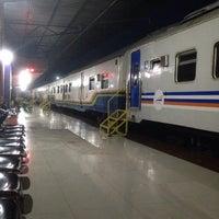 Photo taken at Stasiun Rantauprapat by Mario H. on 9/14/2015