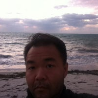 Photo taken at Ritz Carlton Key Biscayne white sand beach by Jairo S. on 3/27/2014