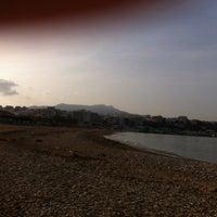 Photo taken at Παραλία Ραφήνας by Lila L. on 3/16/2014