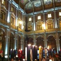 Photo taken at Palácio da Bolsa by Pedro C. on 11/17/2012