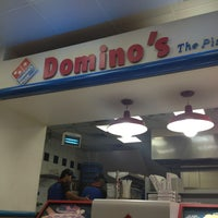 Photo taken at Dominos pizza by Au on 11/9/2013