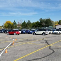 Photo taken at Littleton High School by Chris C. on 10/18/2014