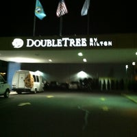 Photo taken at DoubleTree by Hilton Hotel Spokane City Center by Spencer S. on 4/6/2013