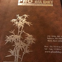 Photo taken at Pho All Day Vietnamese Cuisine by Spencer S. on 12/21/2017