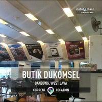 Photo taken at Butik Dukomsel by Nita A. on 3/17/2013