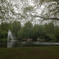 Photo taken at St James's Park by Miriam T. on 5/20/2013
