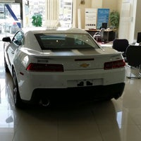 Photo taken at Aljomaih GMC-Chevrolet-Cadillac by Ali_y on 11/14/2013