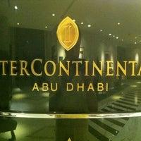 Photo taken at InterContinental Abu Dhabi by Juan F. on 11/1/2012