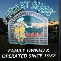 Photo taken at Great Buns Bakery by Carnell S. on 10/27/2012
