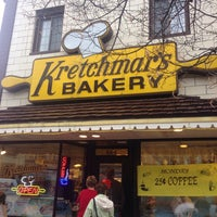 Photo taken at Kretchmar's Bakery by John D. on 12/23/2013
