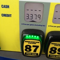 Photo taken at Spinx Gas Station by Dale S. on 6/7/2014