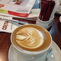 Photo taken at Costa Coffee by Saood A. on 3/8/2014