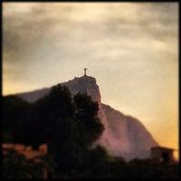 Photo taken at Alto Leblon by Sergio A Pereira on 10/2/2012