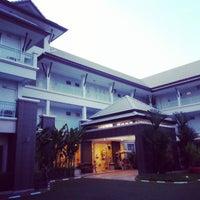 Photo taken at R Rom D Resort by Jira V. on 3/19/2013