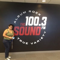 Photo taken at 100.3 The Sound by Amanda Beth on 9/29/2014