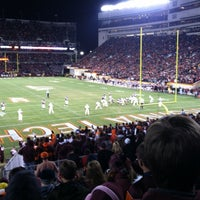 Photo taken at Lane Stadium/Worsham Field by Nathan B. on 11/9/2012