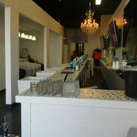 Photo taken at Blowout hair bar & beauty lounge by Michael P. on 12/1/2013