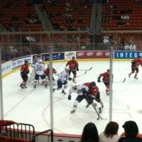 Photo taken at Oklahoma City Barons Hockey by Patricia K. on 10/20/2013