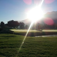Photo taken at Stellenbosch Golf Club by Ludwig H. on 3/16/2014