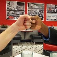 Photo taken at Steak 'n Shake by Monika O. on 9/21/2012