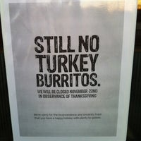 Photo taken at Chipotle Mexican Grill by Stephanie P. on 11/21/2012