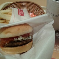 Photo taken at MOS Burger by Vincent on 8/29/2013